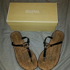 Michael Kors Charm jelly sandals